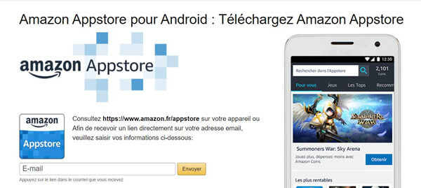Amazon Appstore pour Android