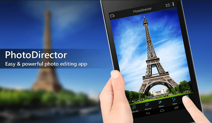 application-de-retouche-photodirector