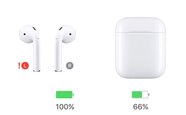 mauvaise batterie airpods